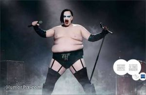 marilyn manson is big