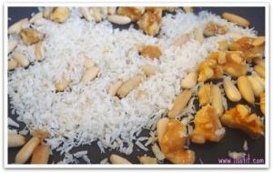 kokos nuts rost