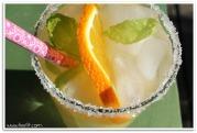 grønn iste med appelsin kanel ingefær mynte ala lissfit