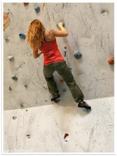 Boulder klättring igen