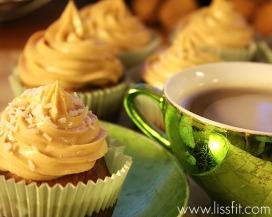 peanut butter cupcakes ala lissfit