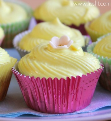 cashew cupcakes mango cheese frostng ala lissfit