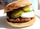 chili burger mad frisco bröd ala lissfit