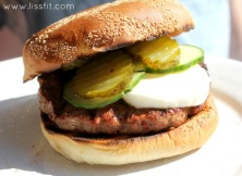 chili burger mad frisco bröd ala lissfit