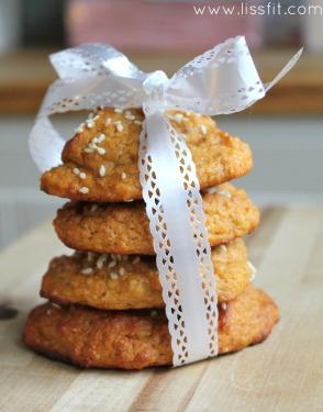 sweet potatoe cookies ala lissfit