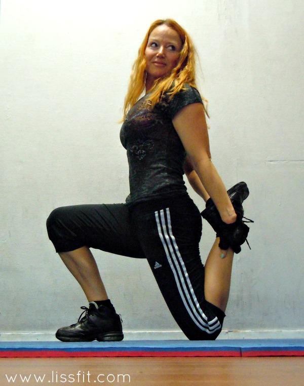liss stretching efter benpass