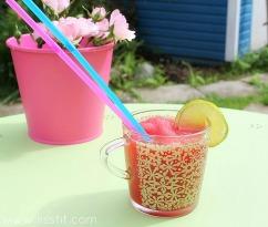 vatten melon lime slush ala lissfit
