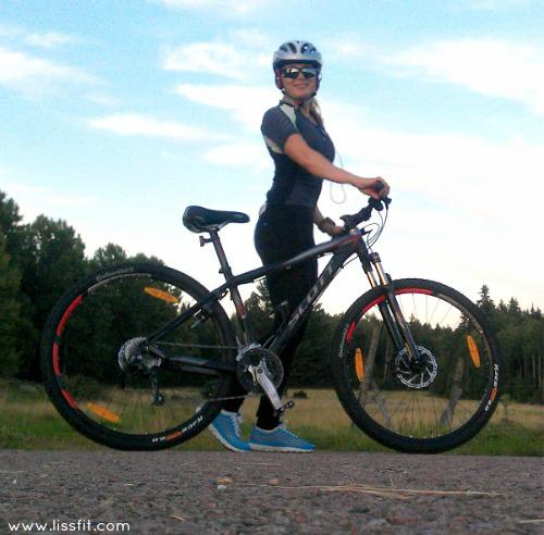 liss kvällens cykeltur