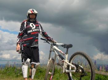 Downhill i Järvsö BikePark