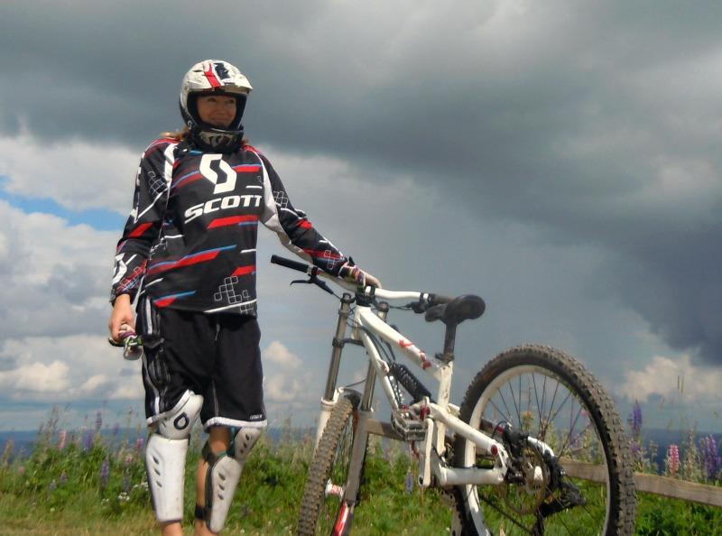 lissfit downhill järvsö bergcykelpark topp
