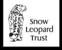 snow leopard trust snöleopard logo