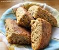 glutenfritt sodabröd mandel chiafrön ala lissfit