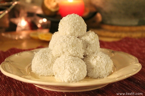coconut snowballs pineapple ala lissfit
