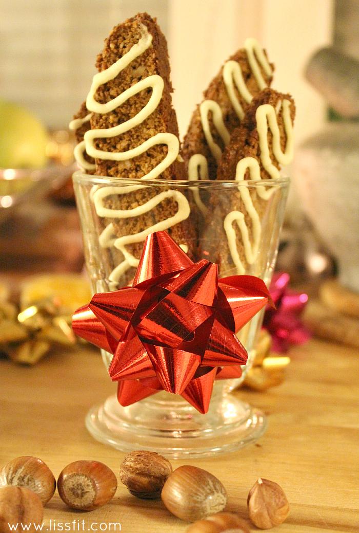 hasselnöt biscotti  sockerfri kristyr ala lissfit