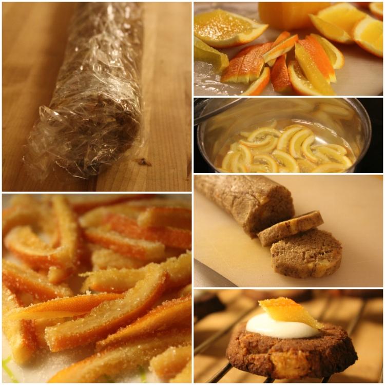 kryddiga småkakor kanderad apelsinskad ala lissfit