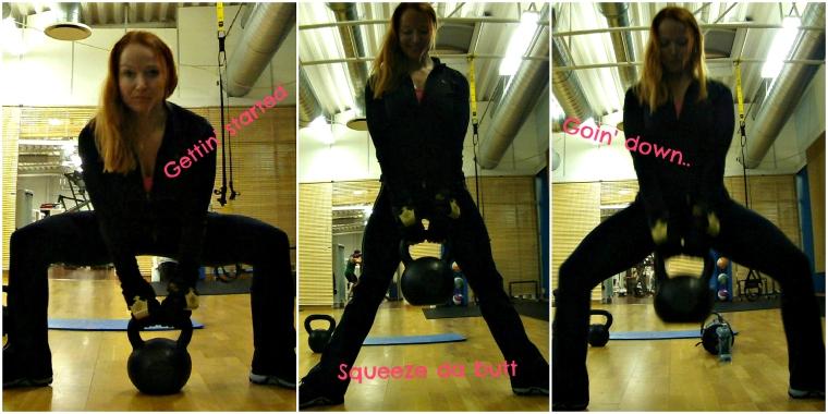 sumo squat kettlebells  lissfit