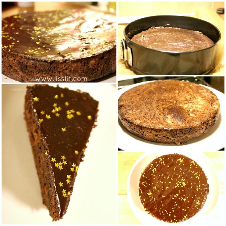 bild glutenfri choklad tårta lakrits glasyr ala lissfit