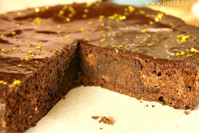 glutenfri choklad tårta lakrits glasyr ala lissfit