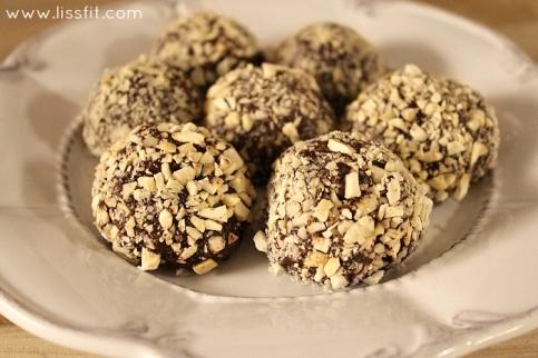 nyttigare nutella choklad tryfflar ala lissfit