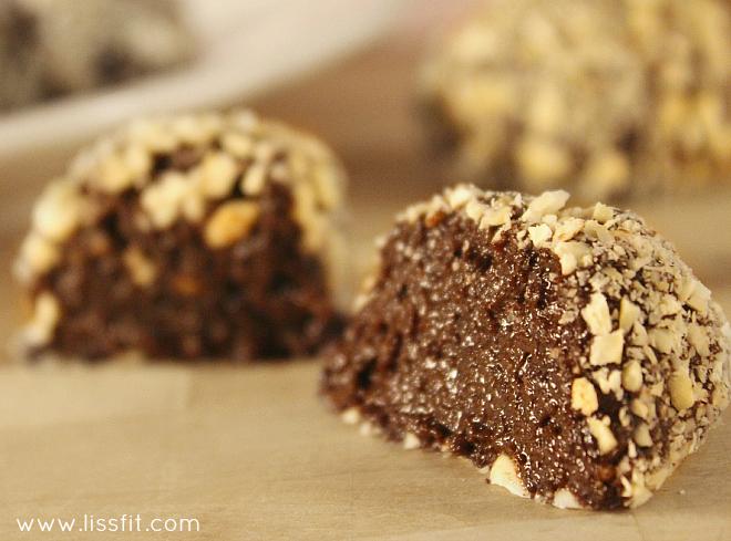 nyttigare nutella choklad tryfflel ala lissfit