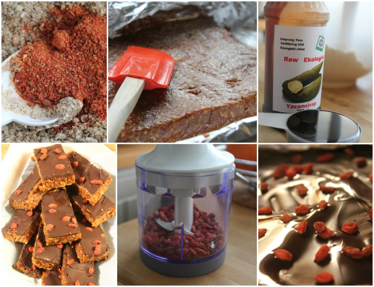 bild protein bars peanut butter goji choklad ala lissfit