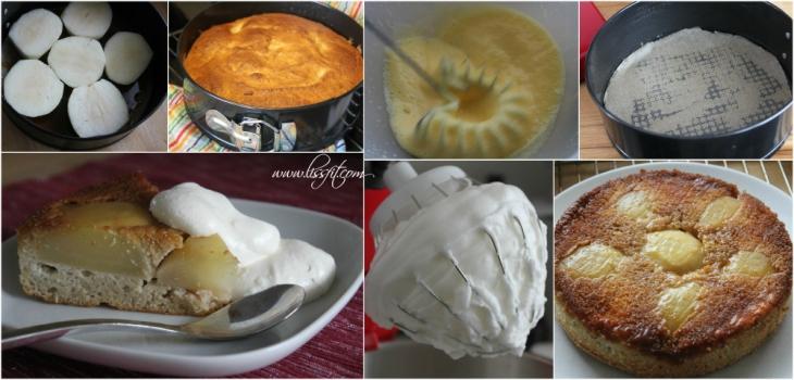 bilder recept upp och ner mandel kaka karamell paron lissfit