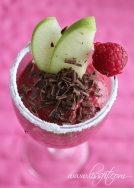 bringebær avokado sjokolade alle hjerters dag dessert ala lissfit