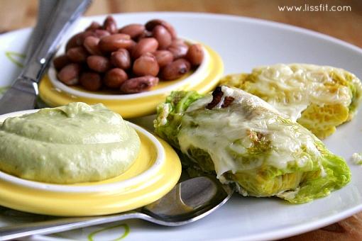 savojdolmar guacamole borlotti beans ala lissfit