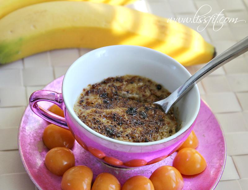 Lättlagad: Bananabrulée med knäckig kokossockertopping