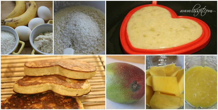 bild collage protein pannkakor ala lissfit