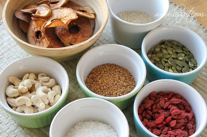 muesli granola frukost flingor ingrediens ala lissfit