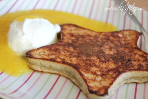 star recept protein pannkakor kokos egg banan ala lissfit