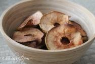 ugnstorkade äppelskivor kanel ala lissfit