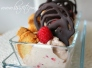 frozen yoghurt hallon avocado glass choklad mandelbiscotti recept de ala lissfit