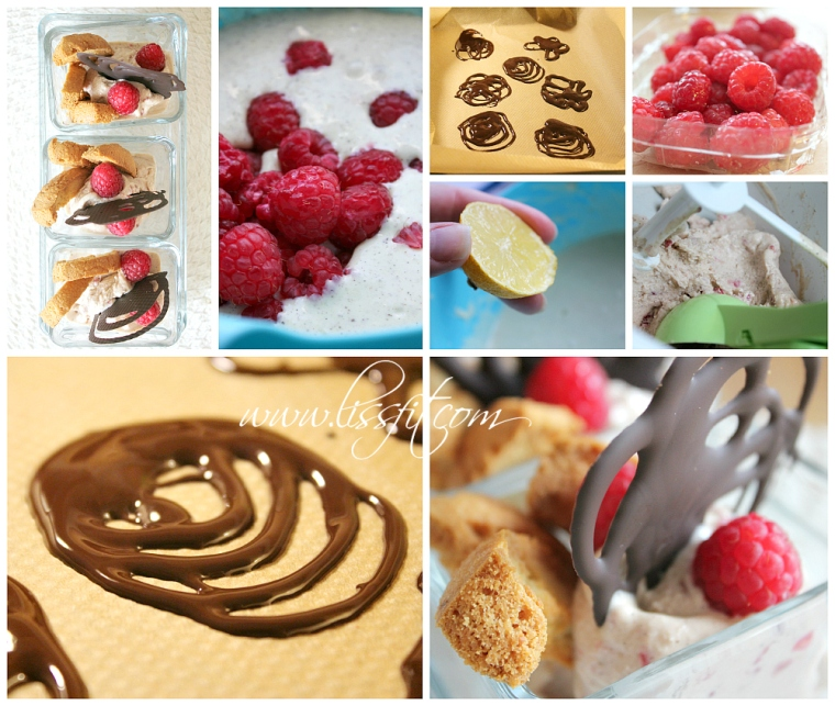 frozen yoghurt hallon avocado glass choklad mandelbiscotti recept lissfit