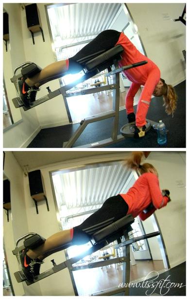 lissfit dagens nedre rygg övning