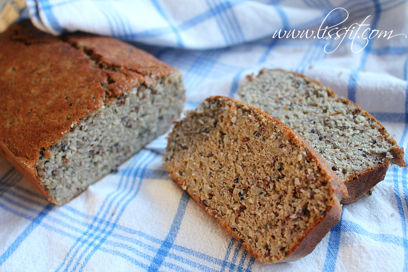 quinoa banana bröd recept lissfit