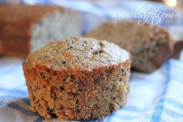 quinoa banana muffins recept lissfit