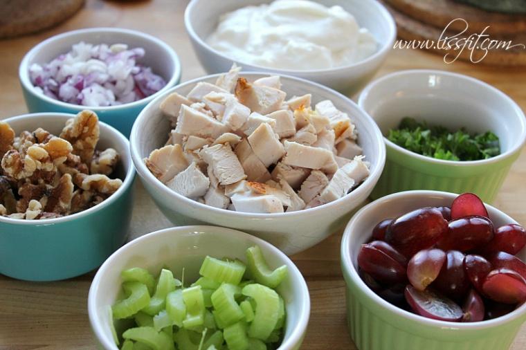 recept ingredienser kycklingsallad lissfit