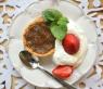 banan jordnötsmör tartelett glutenfritt ala lissfit