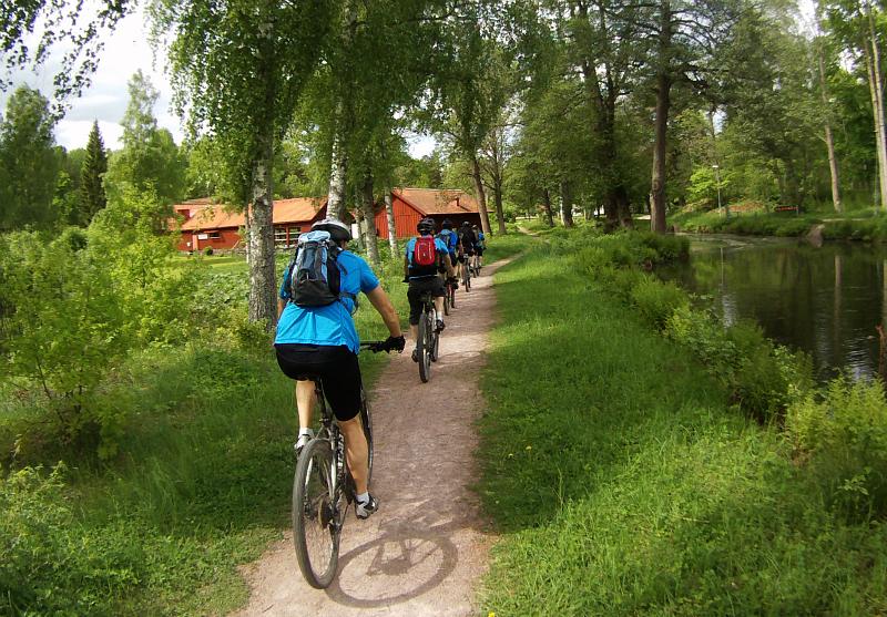 MTB-tur i Hallstahammars skogar