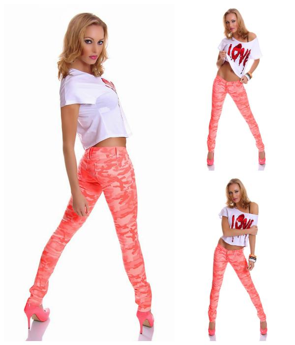 korall camouflage jeans sportychic minibild