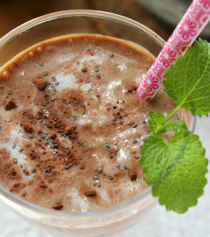 protein smoothie avocado banana cacao yacon ala lissfit minibild