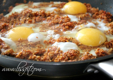 proteinrik pannrätt ägg sojafärs ala lissfit
