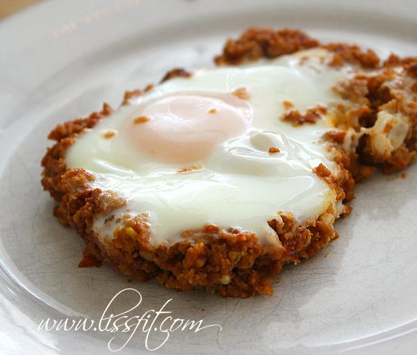 proteinrik pannrätt ägg sojafärs bit ala lissfit