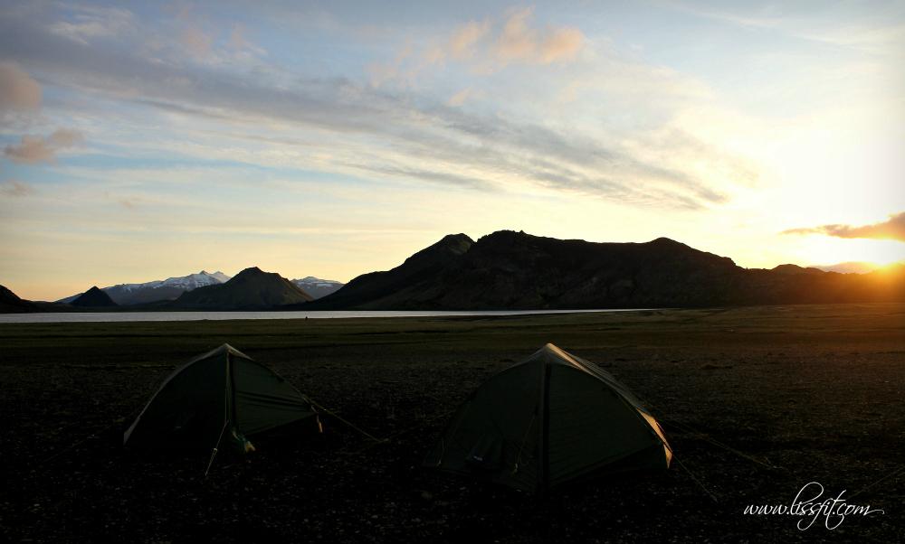 Alftavatn camp site