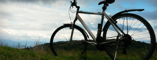 Sykkeltur opp til Bommen på Stordafjellet