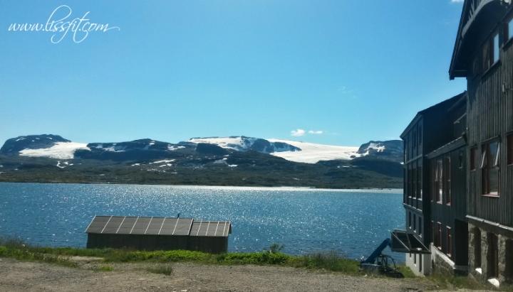Finsevatnet Hardangerjøkulen