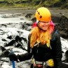Isklättring på Island