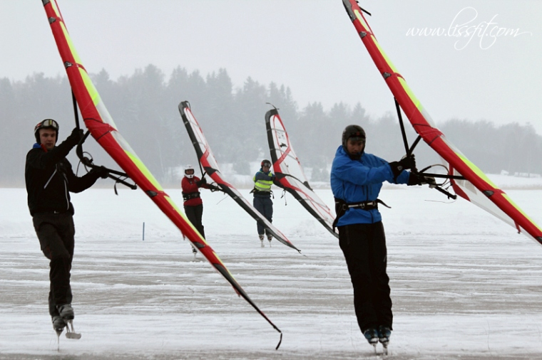 ice kiting ice cup sweden Västerås 2014 lissfit